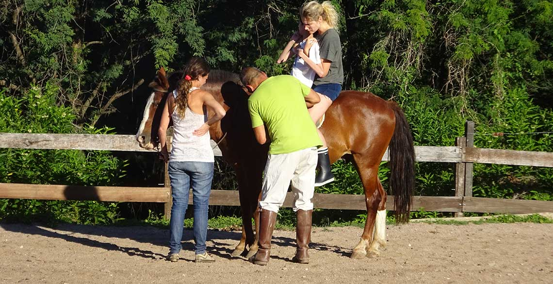 Equine therapy for the disabled