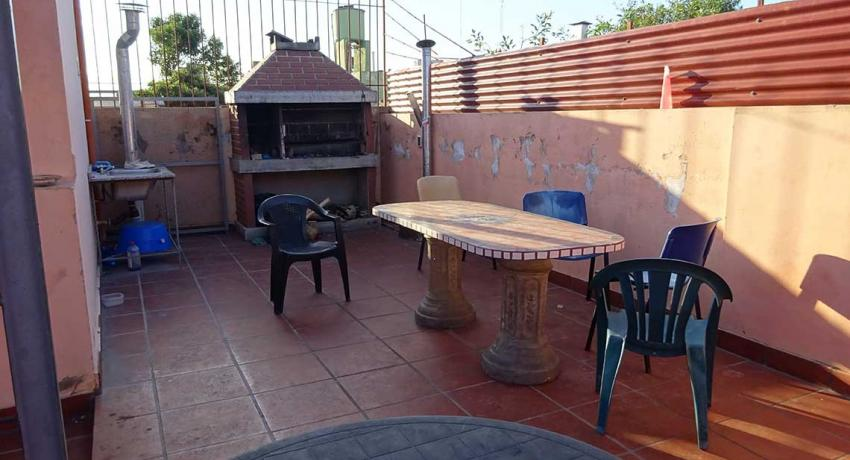 Terrace with BBQ grill
